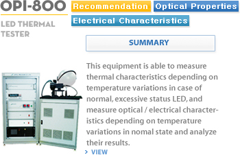 LED Thermal Test Equipment OPI-800